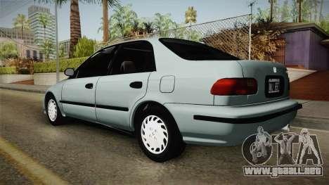 Honda Civic 1.5 LX 1995 para GTA San Andreas