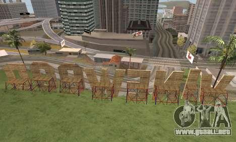 New Vinewood Armenian para GTA San Andreas tercera pantalla