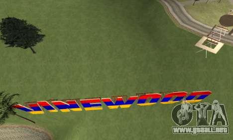 New Vinewood Armenian para GTA San Andreas quinta pantalla