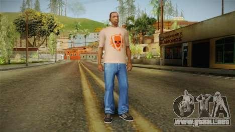 GTA 5 Special T-Shirt v17 para GTA San Andreas tercera pantalla