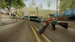 CS: GO AK-47 Aquamarine Revenge Skin para GTA San Andreas