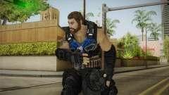 Clayton Carmine without Helmet para GTA San Andreas