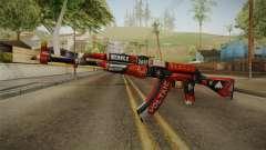 CS: GO AK-47 Bloodsport Skin para GTA San Andreas