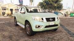 Nissan Frontier (D23) 2017 [replace] para GTA 5