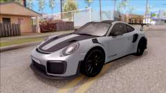Porsche 911 GT2 RS Weissach Package EU Plate para GTA San Andreas