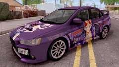 Mitsubishi Lancer Evo X Itasha Nico Robin para GTA San Andreas