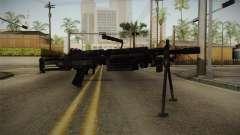 Mirror Edge FN Minimi para GTA San Andreas
