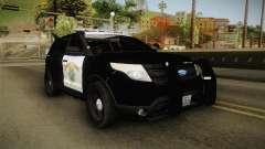 Ford Explorer CHP 2013 para GTA San Andreas