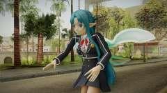 Asuna Yuuki School Uniform v4 para GTA San Andreas