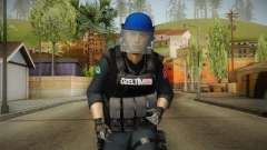Turkish Police-Rapid Response Unit with Gear para GTA San Andreas