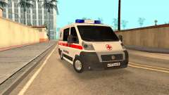 Fiat Ducato Ambulance para GTA San Andreas