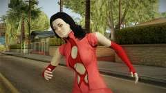 Mass Effect 3 Miranda DLC Citadel Dress Red para GTA San Andreas