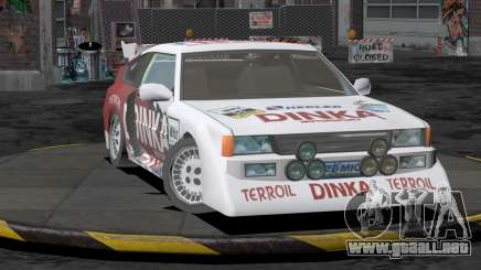 Dinka Blista Compact Rally Edition para GTA San Andreas