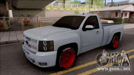 Chevrolet Silverado Single Cab para GTA San Andreas