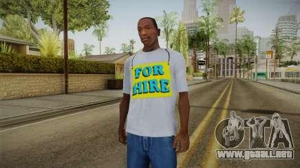 GTA 5 Special T-Shirt v9 para GTA San Andreas