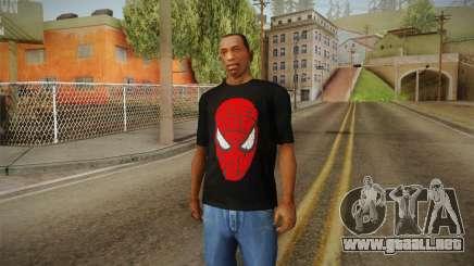 Spider-Man T-Shirt para GTA San Andreas