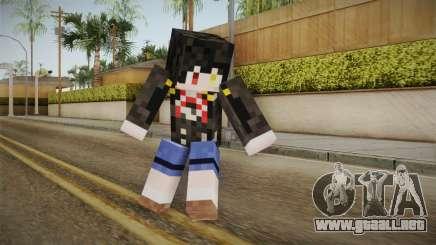 Minecraft Tokiasaki Kurumi Skin para GTA San Andreas