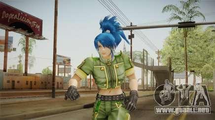 Leona Heidern Skin para GTA San Andreas