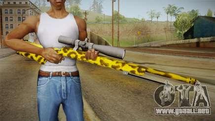 Leopard Sniper Rifle para GTA San Andreas