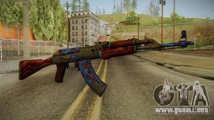CS: GO AK-47 Case Hardened Skin para GTA San Andreas