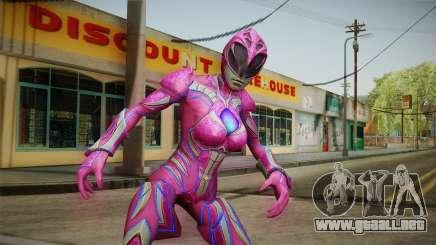 Pink Ranger Skin para GTA San Andreas