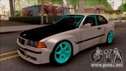 BMW M3 E36 Drift Rocket Bunny para GTA San Andreas