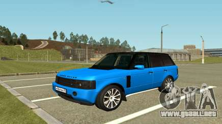 Land Rover Vogue para GTA San Andreas
