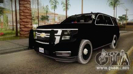 Chevrolet Tahoe 2015 Police para GTA San Andreas