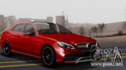 Mercedes-Benz E-class AMG IV para GTA San Andreas