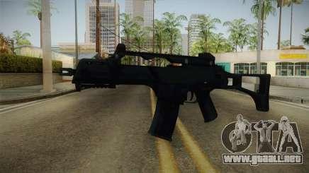 Mirror Edge HK G36C para GTA San Andreas