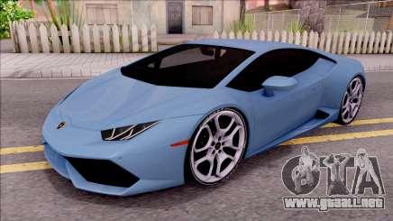 Lamborghini Huracan LP610-4 para GTA San Andreas