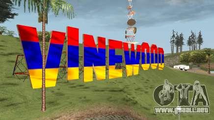 New Vinewood Armenian para GTA San Andreas