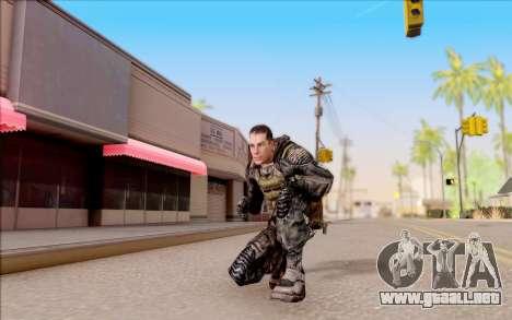 Degtyarev en el cuerpo de la armadura de S. T. A para GTA San Andreas quinta pantalla