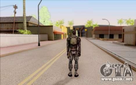 Degtyarev en el cuerpo de la armadura de S. T. A para GTA San Andreas sucesivamente de pantalla