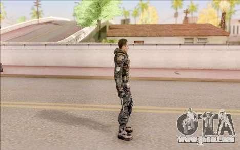 Degtyarev en el cuerpo de la armadura de S. T. A para GTA San Andreas tercera pantalla