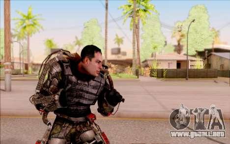Degtyarev en el exoesqueleto de S. T. A. L. K. E para GTA San Andreas