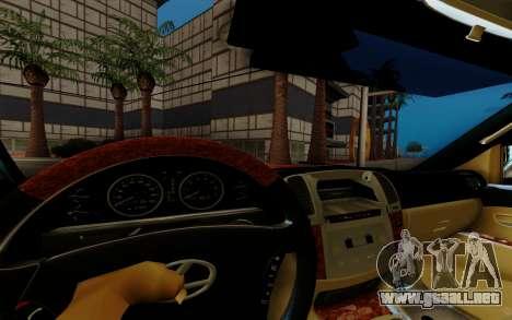 Lexus LX470 FBI para GTA San Andreas vista hacia atrás