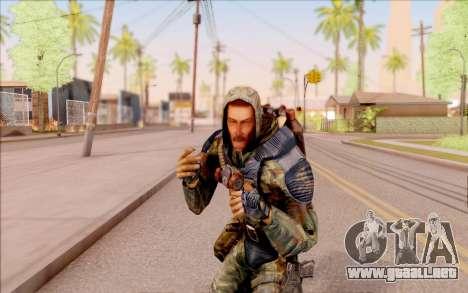Glorioso de S. T. A. L. K. E. R. para GTA San Andreas quinta pantalla
