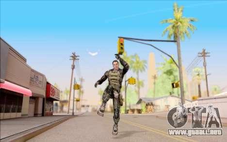 Degtyarev en el cuerpo de la armadura de S. T. A para GTA San Andreas sexta pantalla