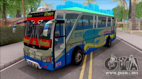 New Khan Bus G para GTA San Andreas