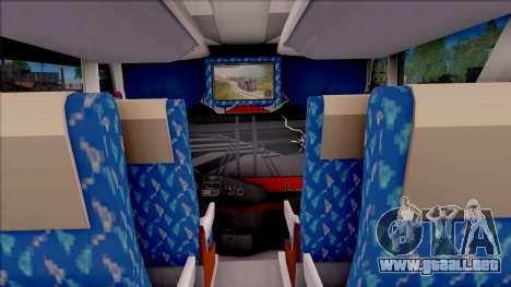 New Khan Bus G para visión interna GTA San Andreas