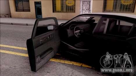 GTA V Bravado Buffalo Edition para visión interna GTA San Andreas