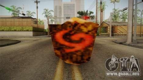 Hyrule Warriors - Deku Shield para GTA San Andreas segunda pantalla