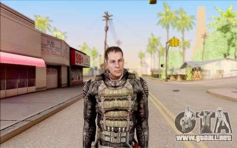 Degtyarev en el cuerpo de la armadura de S. T. A para GTA San Andreas