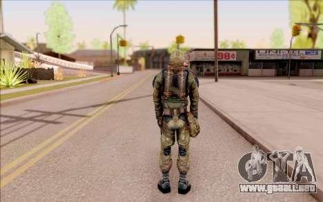 Glorioso de S. T. A. L. K. E. R. para GTA San Andreas sucesivamente de pantalla