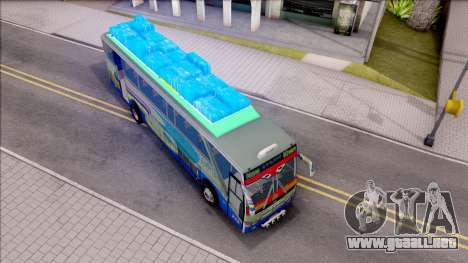 New Khan Bus G para la visión correcta GTA San Andreas