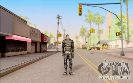 Degtyarev en el cuerpo de la armadura de S. T. A para GTA San Andreas segunda pantalla