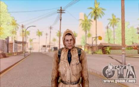 Degtyarev chaqueta novato de S. T. A. L. K. E. R para GTA San Andreas