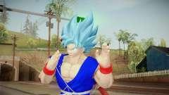 Goku Original DB Gi Blue v6 para GTA San Andreas