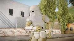 Star Wars Battlefront 3 - SnowTrooper DICE para GTA San Andreas